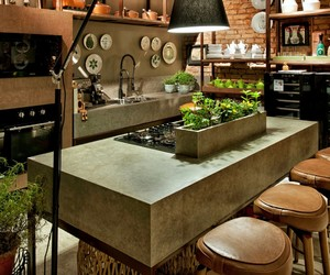 architecture, design, and kitchen image