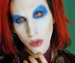 Marilyn Manson, Mechanical Animals, and omega image