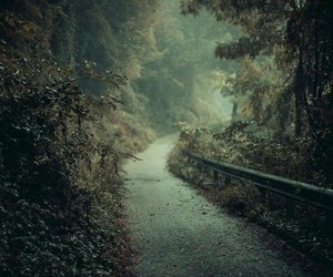 road, travel, and way image
