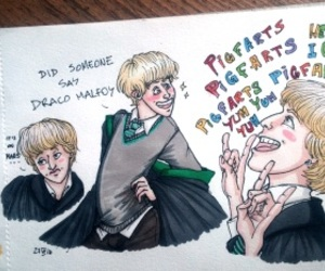 a very potter musical, avpm, and draco malfoy image
