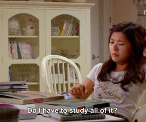 me, study, and kdrama image
