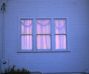 window, pink, and grunge image