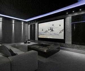 room and cinema image