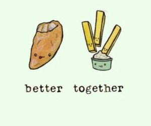 food and better together image