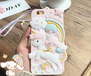 sanrio, little twin stars, and phone case image