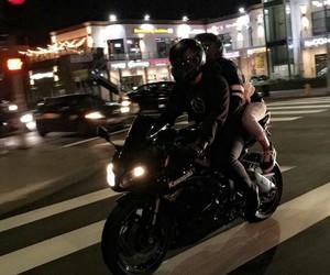 bike, couples, and kawasaki image