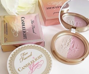 too faced, makeup, and pink image