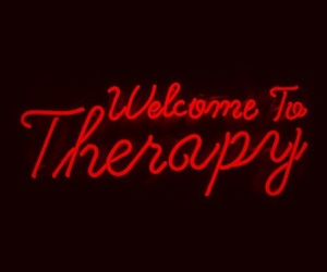 neon, light, and therapy image