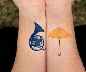 how i met your mother, tattoo, and himym image
