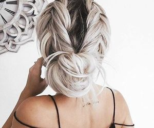 braid, hair style, and romantic image