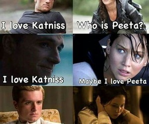 books, katniss everdeen, and thg image