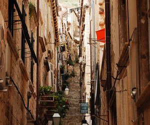 Croatia, dubrovnik, and lonely image