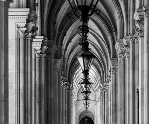 black & white, photography, and travel image