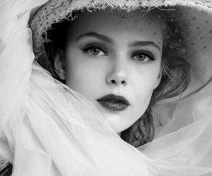 hat, frida gustavsson, and woman image