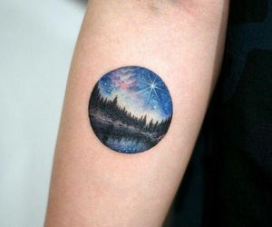 arm tattoo, grunge, and ink image