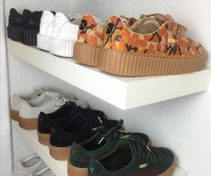 puma, shoes, and creepers image