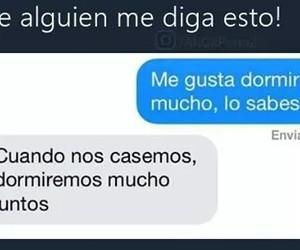 divertido, memes en español, and dormir image