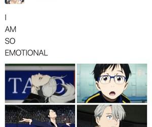 yuri on ice, victor nikiforov, and yuuri katsuki image
