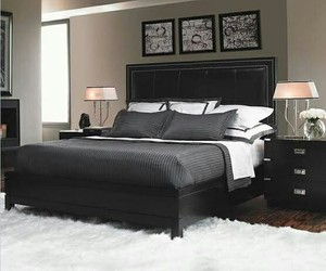 black and home image