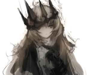 anime, beautiful, and dark image