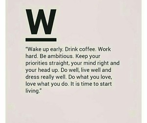 ambition, coffee, and go image