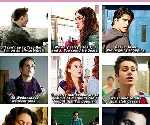 teen wolf, funny, and mean girls image