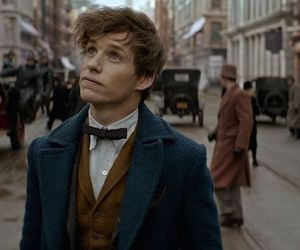 newt scamander, fantastic beasts, and eddie redmayne image