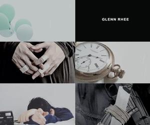 aesthetic, the walking dead, and glenn rhee image