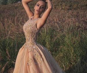 dress, look, and lookbook image