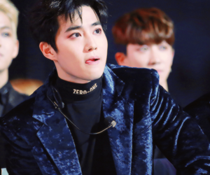 asia, handsome, and suho image