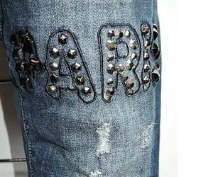 denim, jeans, and nieten image