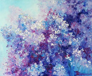 art, purple, and background image