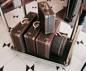 Louis Vuitton, luxury, and travel image
