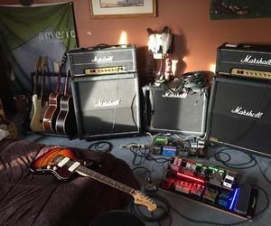 amp and guitar image