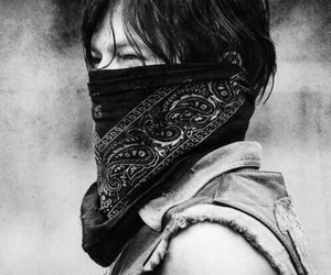 tumblr, back and white, and norman reedus image