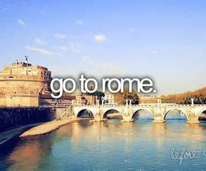 rome, before i die, and italy image