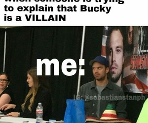 bucky, Marvel, and me image