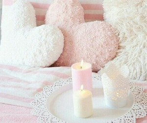 pink, room, and love image