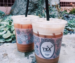 drink, boy, and tea image