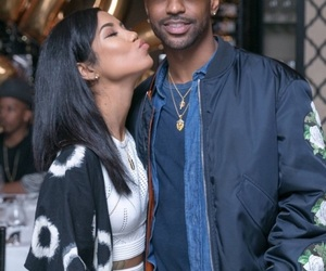 big sean, jhene aiko, and couple image