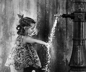 babydoll dress, 500px, and water pump image