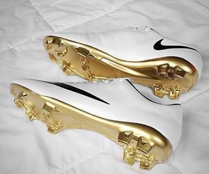 nike, football, and gold image