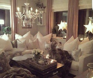 home, living room, and decor image