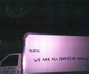grunge, quotes, and sensitive image