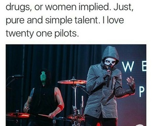 twenty one pilots, band, and music image