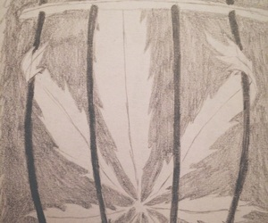 cannabis, weed, and draw image