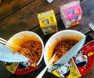 asian, korea, and food image