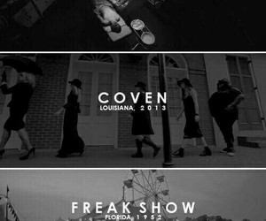 ahs, hotel, and coven image