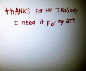 art, tragedy, and grunge image