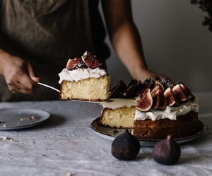 fig, cake, and dessert image